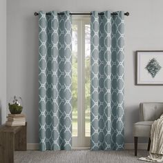 Found it at Joss & Main - Trellis Grommet Curtain Panel