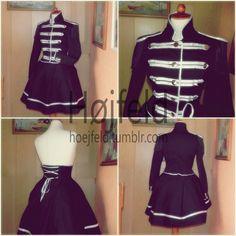Welcome To The Black Parade Uniform by Hoejfeld.deviantart.com on @DeviantArt
