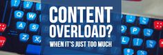 Suffering from content marketing overload? Too much content turns your prospects off. Don't endanger your lead generation programme. Marketing Automation, The Marketing, Content Marketing, Lead Generation, I Promise, Software, Names, Feelings, Modern