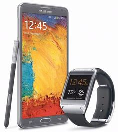 Samsung Note 3 & Gear my dream phone and watch.  #NotABox and #UPSHappy