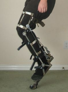 Homemade Digitigrade Stilts