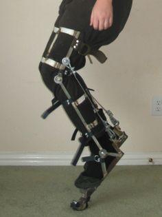 How To Make Digitigrade Stilts digitigrade hoof stilts costume 1 ...