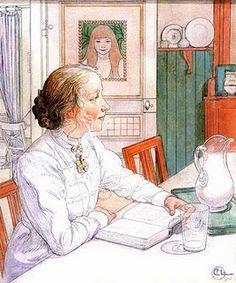 Carl Larsson (r. Mrs. Webb)