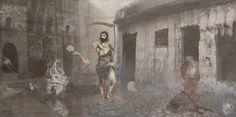 """Elì, Elì, lemà sabachthàni? | Estrema Unzione di Cristo"" [Liturgia prima: l'Animale - slab1/3] 2013 © [Lo Mazareno] ominimedial-digitalfrottage-photomanipulation [proportions 2:1]#cyberart #mixmedia  #photomanipulation #photography #drawing #graphic #painting #digitalart #inkjet #fresco #esotericism #mythology #symbolism #apocalypse #abandoned #Tiziano #Michelangelo #pollution #Dionysus #initiation #ritual #epos #alchemy #science #Mediterranean #beast #man #god #soul #love #art"