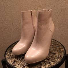 Nine West Booties Brand new, never been used boots! I no longer have the box. Reasonable offers accepted! Nine West Shoes Ankle Boots & Booties