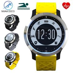 FuzWeb:Makibes F69 Bluetooth smart Watch IP68 Fitness Tracker Bracelet Heart Rate Monitor & Swimming Wristband for IOS Android
