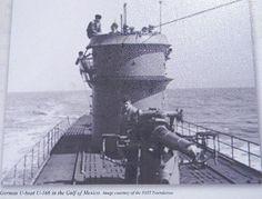 German U Boat in Gulf of Mexico