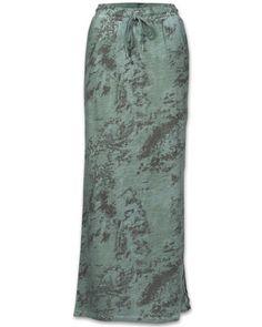 Eksept Grunge Skirt Damen Rock oliv