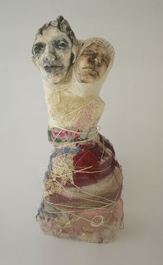 veronica cay - the refuge within - ceramics mixed media