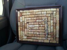 Reserved Cork board jewelry Holder. $30.00, via Etsy.