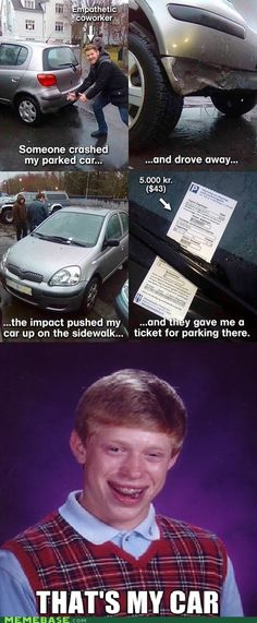 Bad Luck Brian Studies Abroad