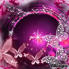 Mariposas rosadas | Pink butterflies - #gifs Butterfly Gif, Butterfly Background, Butterfly Pictures, Butterfly Kisses, Butterfly Wallpaper, Pretty Gif, Beautiful Gif, Glitter Graphics, Everything Pink