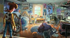 Toy Story - Concept Art