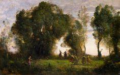 La Danse des nymphes | Jean-Baptiste Camille Corot