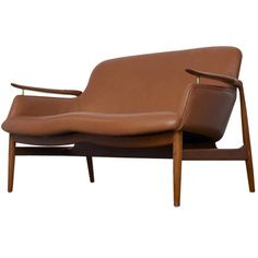 Finn juhl NV-53 sofa in leather