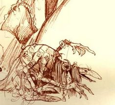 Thank you, Brian Froud, for the Dark Crystal