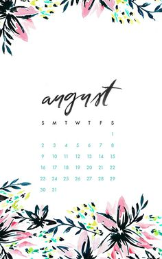 Free downloadable monthly phone and desktop background wallpaper downloads! | Download: http://www.maydesigns.com/m/digital-wallpapers-august-2015