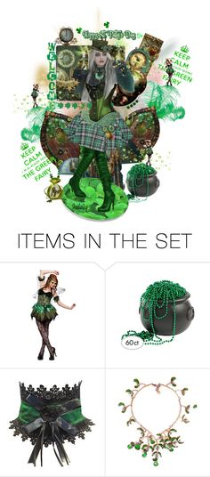 """I'm already seeing the green fairy :)"" by sheelanagig1313 ❤ liked on Polyvore featuring art"