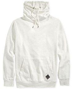 Univibe Funnel-Neck Solid Sweatshirt - Hoodies & Sweatshirts - Men - Macy's