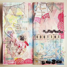 Tägliche Routine (Art Journal + Tutorial) » felicitasklink.de
