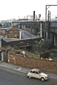 """scavengedluxury: """" Proof House Junction, Birmingham, July Photo by David Rostance. Steam Trains Uk, Birmingham England, Aston Birmingham, Birmingham City Centre, Little Britain, British Architecture, Old Train Station, Disused Stations, British Rail"""