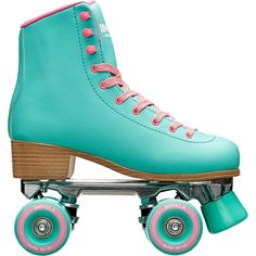 Rookie Raw Youngster Quad Skates Childrens Ankle Strap Leather Upper