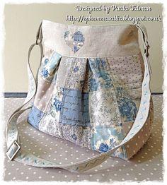 Shabby patchwork bag
