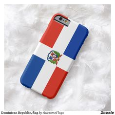Dominican Republic, flag Barely There iPhone 6 Case