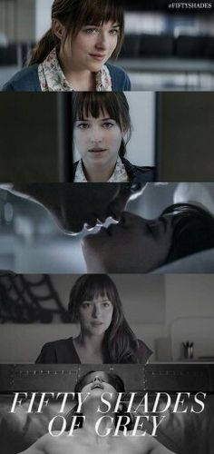 Falling in love ... with Grey. | Anastasia Steele | Fifty Shades of Grey | In Theaters Valentine's Day