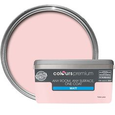 Colours Premium Fallen Petal Matt Emulsion Paint 2.5L | Departments | DIY at B&Q