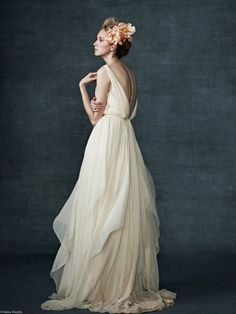 Romantic Wedding Gowns by Samuelle Couture