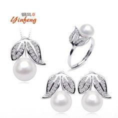 Real Freshwater Pearl Pendant Necklace Earrings Ring Birthday Gift Wedding Jewelry Fashion Design Accessory For women //Price: $27.00 & FREE Shipping // Get it here ---> http://bestofnecklace.com/real-freshwater-pearl-pendant-necklace-earrings-ring-birthday-gift-wedding-jewelry-fashion-design-accessory-for-women/    #Wedding_jewellery