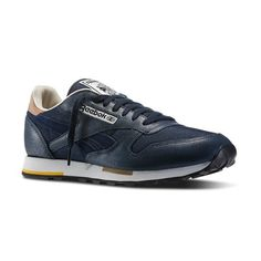 Reebok classic leather casual M46087 - Sneakersy męskie - Solome.pl