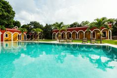 Hotel Hacienda Tiucm : It just feels like jumping in!? This is the last part rebuilt in 2014