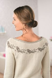 Dawn Chorus by Anniken Allis Published in Let's Knit! Magazine 84, October 2014