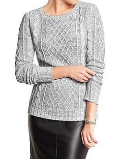 Women's Cable-Knit Sweaters