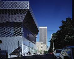Seattle Central Library,© Philippe Ruault