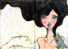 art journal july - resurfacing