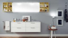 Font Bathroom - Scavolini by Scavolini Kitchen, Living and Bathroom with artemide Eclisse