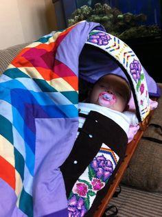 Beaded cradle I made 3 yrs ago. for a friend Native American Baby, Native American Patterns, Native American Pictures, Native Beadwork, Native American Beadwork, Ribbon Shirt, Beadwork Designs, Baby Baskets, Native Design