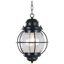 View the Kenroy Home 90965 Craftsman / Mission 1 Light Outdoor Pendant from the Hatteras Collection at LightingDirect.com.