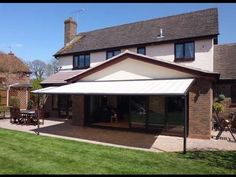 Markilux Pergola Retractable Fabric Roof System - YouTube