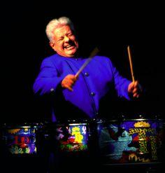 Mr. Tito Puente, el Rey del Timbal.
