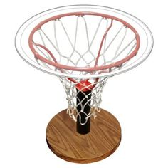 Basketball goal net table DIY http://thediyshow.com/