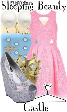 Disney Bound - Sleeping Beauty Castle