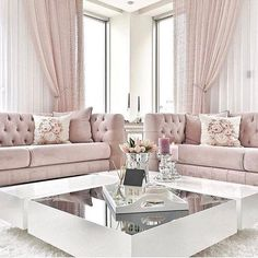 omygoodness beautiful! Tap the link now to see where the world's leading interior designers purchase their beautifully crafted, hand picked kitchen, bath and bar and prep faucets to outfit their unique designs. #livingroomdecorpink