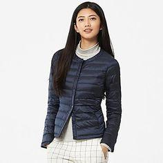 WOMEN Ultra Light Down Compact Jacket Цвет: 69 NAVY Код изделия: 146388 SKU# 146388