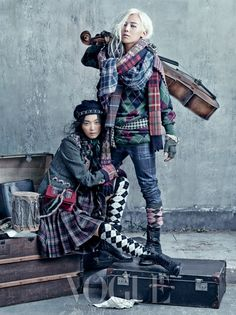 G-Dragon for Vogue Korea