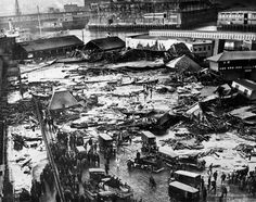 Great Molasses Flood 1919 - Looking Over The Destruction