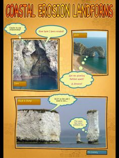 Geography Department ‏@EV_Geography Comic life, coastal erosion landforms #geographyteacher pic.twitter.com/UBZPjunf Gcse Geography Revision, Teaching Science, Beach Art, Social Studies, Coastal, Homeschool, Classroom, Teacher, Education